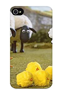 Dionnecortez Premium Shaun The Heep By Cartoon Heavy-duty Protection Design Case For Iphone 4/4s