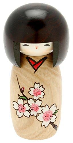Usaburo Japanese Kokeshi Doll, Kimiko