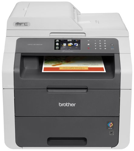 Brother Printer RMFC9130CW Wireless Color Printer with Scanner, Copier & Fax (Certified Refurbished) ()