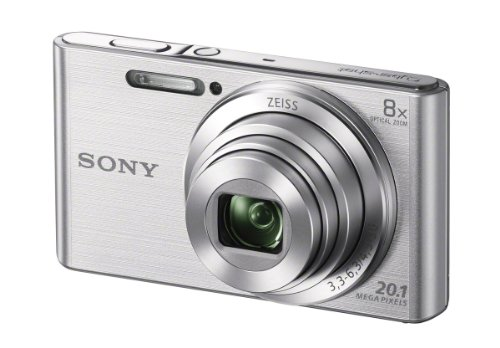 Sony DSCW830 20.1 MP Digital Camera with 2.7-Inch LCD (Silver)