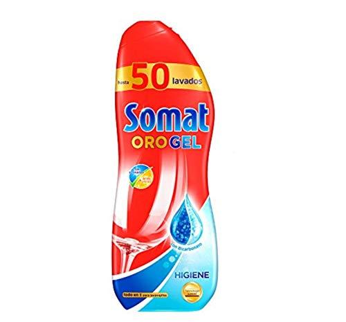 Somat Oro Gel Lavavajillas Higiene - 50 Lavados (900 ml): Amazon ...