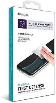 Qmadix QM-ITALSP Protector de Cristal Líquido, Color Transparente