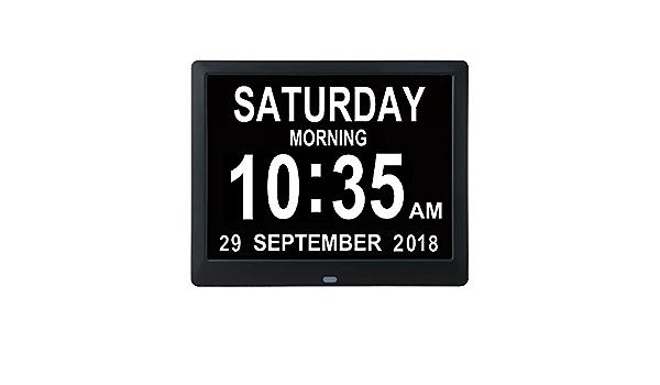 BESTUNE Despertador Digital, Reloj Digital del día del ...