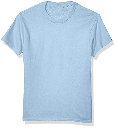 Sky Blue Soccer T-Shirt - Soffe Boys' Big 5.2 OZ Regular