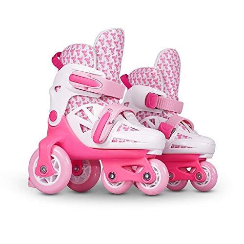 保安ロマンチックゴムプロテクター ヘルメット 子供用/ジュニア インラインスケート スケートボード 4点セット
