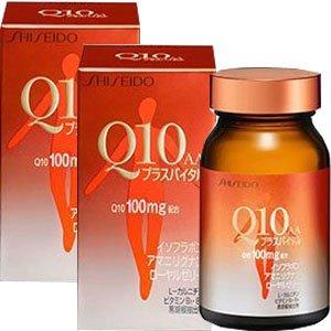 【2個】 資生堂 Q10AAプラスバイタル 90粒x2個 (4987415333601) B00KD187PG