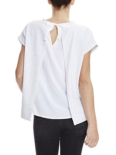 Ma1026 Bench shirt Short Grey T Sleeve Marl Femme Sweatshirt Gris summer Sr1qOSHBT