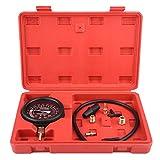 Engine Vacuum Pressure Tester, Universal Car Engine Vacuum Fuel Pump&Vacuum Tester Gauge Carburetor Pressure Diagnostics Leakage Tester