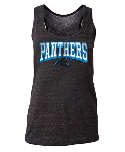 - New Era Carolina Panthers Women's NFL Downfield Racerback Tank Top Shirt