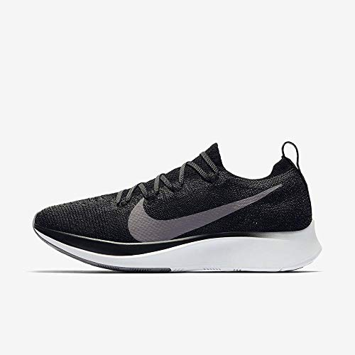 NIKE Zoom Fly Flyknit Women's Running Shoe Black/Gunsmoke-White 9.0 (Zoom Kobe Nike 4)