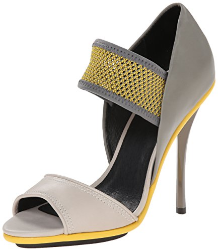 M Yellow A L Women's Grey Sandal Barrie Dress B 5Uv8px8w4q