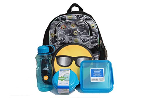Accessories 22 Emoji Backpack and Lunch Box Supply Pack