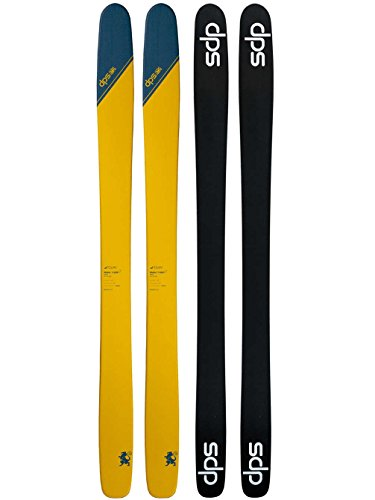 DPS Skis Wailer 112 RP2 Tour1 Ski Tribeca Yellow, 168cm