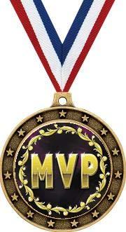 - MVP Gold Medals - 2 1/2