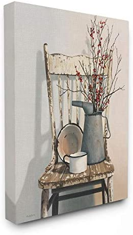 Stupell Industries Vintage Rustic Things Neutral Painting Canvas Wall Art