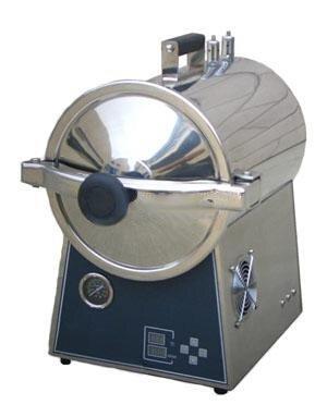 Zgood 24L Autoclave Vacuum Sterilizer Desktop Steaming Pressure Lab Machine 110V by Zgood
