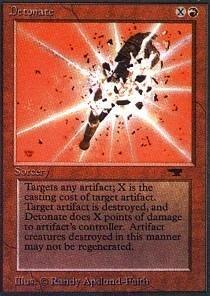Magic: the Gathering - Detonate - Antiquities