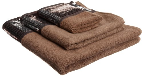Popular Bath 3-Piece Bath Towel Set, Elite ORB Collection, Copper ()