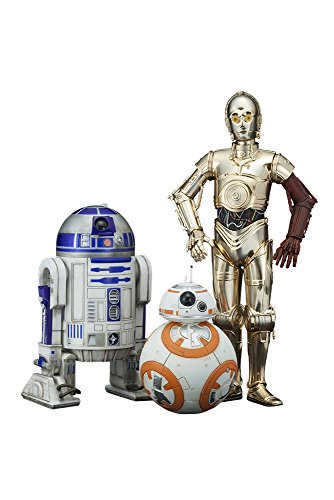 ARTFX+ Star Wars The Force Awakens Movie C-3PO R2-D2 with BB-8 1/10 Figure Kotobukiya