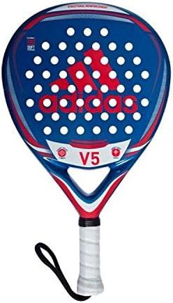 adidas V5 Pala de pádel de Tenis, Hombre, Azul, 0.36: Amazon.es ...