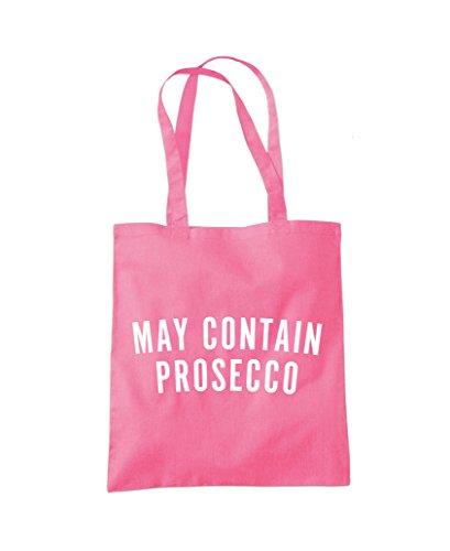 Prosecco Fashion Tote Bag May Shopper Pink Contain P45xwqU