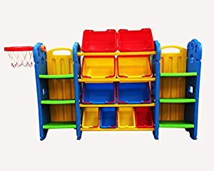 Storage Library with Game Basket 991028