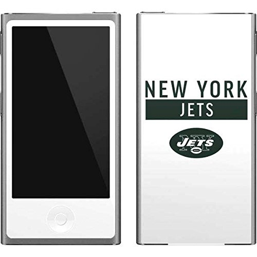 Skinit NFL New York Jets iPod Nano (7th Gen&2012) Skin - New York Jets White Performance Series Design - Ultra Thin, Lightweight Vinyl Decal Protection (York Jets Ipod New Skin)