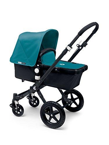 Bugaboo Cameleon3 Complete Stroller - Petrol Blue - Black