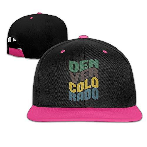 Liciwem Retro Denver Colorado Adjustable Baseball Plain Cap Hip Hop