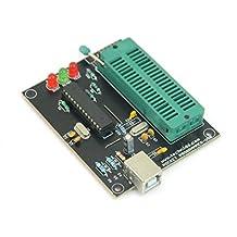 AVR Programmer / ATMEGA Programmer / AVRTIny Programmer USB Programmer Burner Board Windows 10 Compatible   TECHNIDO