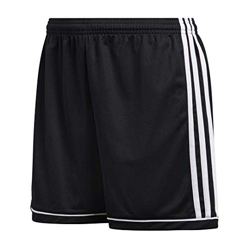 (Adidas Women's Soccer Squadra 17 Shorts - Medium - Black/White)