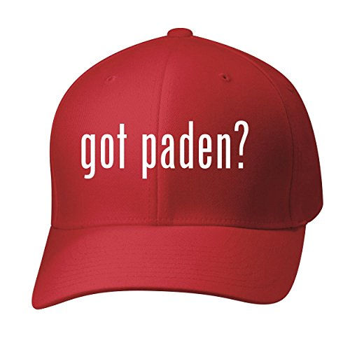 BH Cool Designs Got Paden? - Baseball Hat Cap Adult, Red, - Line Glasses C