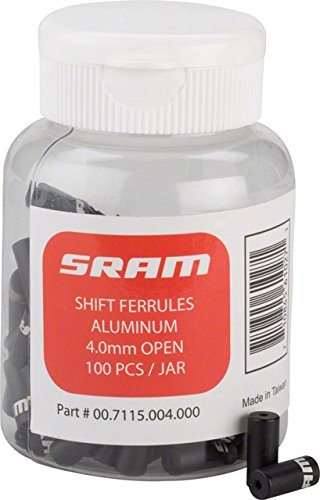 SRAM 4mm Alloy Bicycle Cable/Housing Ferrules