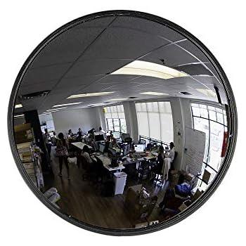 Retail Security Mirror 24 Inch Diameter Convex Warehouse Safety