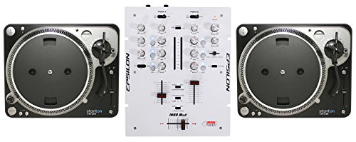Pair Stanton T.92 USB Direct Drive Turntable T.92USB T92+DJ Scratch Mixer Direct Drive Dj Turntable