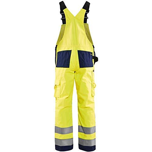 Blaklader Workwear Bib Trouser Yellow//Black D112 43S UK
