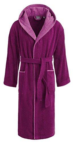 728 360 cotone cappuccio Vivid 4 733 in nbsp;colori per peso Egeria donna sauna 100 Rosa nbsp;G con uomo Cairo e Pink mantello accappatoio m² 66qHPAa