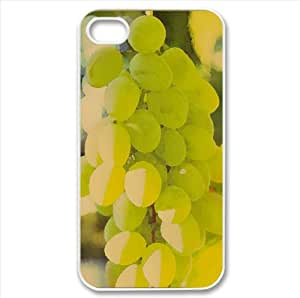 White Grape Watercolor style Cover iPhone 4 and 4S Case
