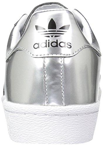 6 M ftwwht Superstar Adidas Argenté silvmt Blue Us Eu Lab silvmt blanc Argent lab Blue White ftwr W qBwqZrn6dO