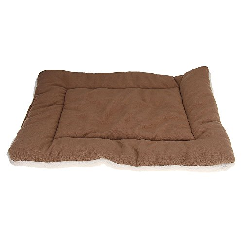 Power Q Dog Mat Pet Plush Sleep Dogs Cats Soft Bed Cover Med