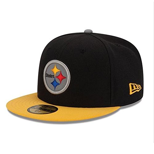 New Era Nfl 59fifty Men's Hat Thanksgiving Series Fitted Cap Pittsburgh Steelers (7 3/8)