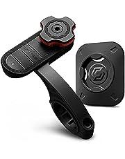 Spigen Gearlock Bike Phone Holder with Universal Adapter, Out Front Type Bike Mount MF100 - Black