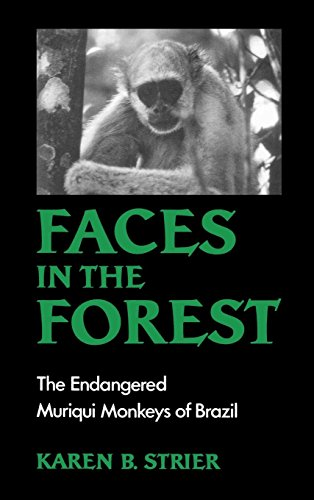 Faces in the Forest: The Endangered Muriqui Monkeys of Brazil by Oxford University Press