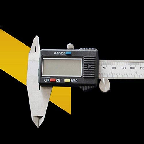 ZJN-JN Caliper Electronic Digital Caliper Vernier Caliper Depth Gauge (Size : 0-150mm) Measuring Tool