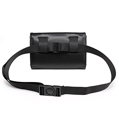 Veins Bag Crocodile Women Belt Leather Black Gift Badiya Waist for Bag 3 Red Multifunction Mini Fashion q40AUwxSE