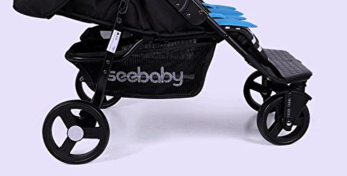 luxury baby stroller for twins,360 baby stroller,landscape baby trolley ,twins stroller,baby strollers double by vory (Image #5)
