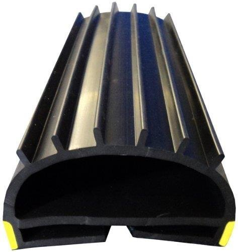 Shutter Wrap (Weather Stop WS014-400 4 m Roller Shutter Wrap-Around Seal - Black by Weather Stop)
