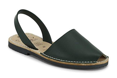 ViWo - Sandalias de vestir de Piel para mujer negro