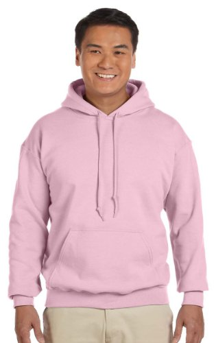 18500 Gildan Avec Heavy nbsp;sweat Blend Capuche Clair nbsp;– Rose w7rEq7na6
