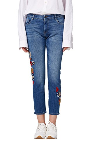 by edc Azul Esprit Boyfriend Blue 902 Medium Wash para Vaqueros Mujer UP41P7wqd